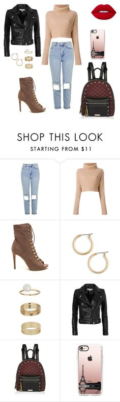 """""""Untitled #1063"""" by wali-emna on Polyvore featuring Topshop, Valentino, Nordstrom, Miss Selfridge, IRO, River Island, Casetify and Lime Crime"""