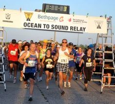 Ocean to Sound Relay. Challenge yourself @ http://challengete.com/events/ocean-to-sound-run