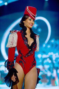 "Miss Switzerland — Best ""Marching Band Festive"" | 36 Most Amazingly Elaborate Miss Universe Costumes"