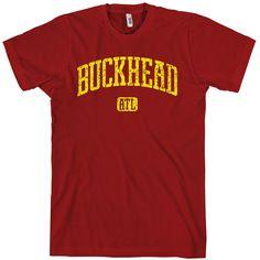 232671bb Buckhead ATL T-shirt Eco Friendly, Clothing Company, Atlanta, Amp, Printed