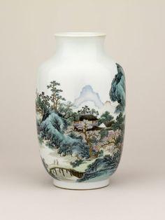 vase; Qing dynasty; Qianlong; 1736-1795; China