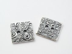ONE REVERSIBLE Handmade Jewelry Clasp BH3s Unique by RusticLuster