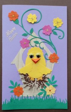 Easter Chick Punch Project
