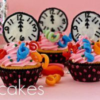 New Years Eve Midnight Cupcakes and 16 more at home ideas