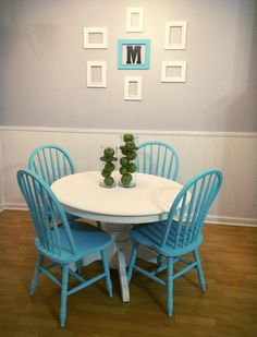 My DIY dining room makeover on a budget!