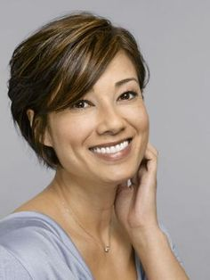 Short Haircuts For Thin Hair | For women over 50 looking for short hair this is definitely a high
