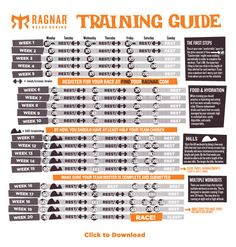 Beginner Ragnar Training Guide. Bucket List!