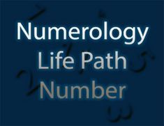 Your Life Path Number – Discover Your #Destiny -  #numerology