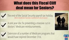 President Obama signed the #fiscalcliff bill today but what does this mean for seniors? #SocialSecurity #Medicare