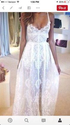 Lace, corset waist, white