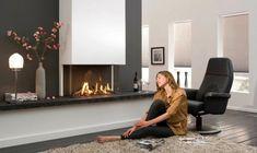 Fabulously Minimalist Fireplaces