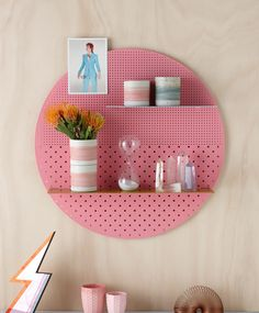 The Mesh Series Shelves by Bride and Wolfe