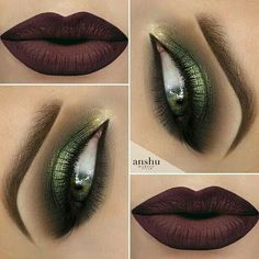 Maybe not so dark lipstick, but eye shadow is awesome.