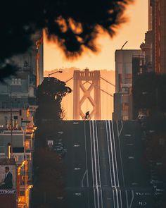 San Francisco California by @andrewoptics by photoblog.sanfranciscofeelings.com sanfrancisco sf bayarea alwayssf goldengatebridge goldengate alcatraz california