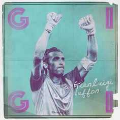 Buffon Soccer.Fútbol.Football. / 12x12 V.2 on Behance