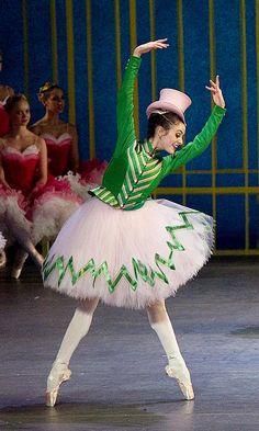 Melanie Hamrick as one of the Nutcracker's Sisters in The Nutcracker. Melanie Hamrick, New York Dance, Dance News, Dance Magazine, Ballet Beautiful, Black Swan, Harajuku, Sisters, Ballet Skirt