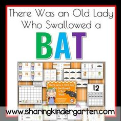 THERE WAS AN OLD LADY WHO SWALLOWED A BAT MATH UNIT