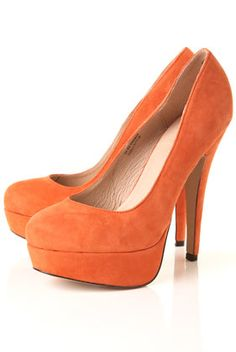 Sexy Orange Pumps