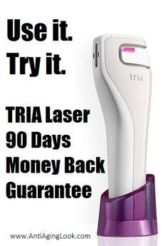 TRIA 90 Days Money Back Guarantee