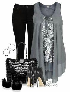Black w/grey