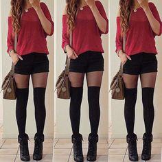 14 Outfits casuales en rojo que te harán ver súper hot