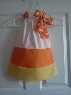 Candy corn dress