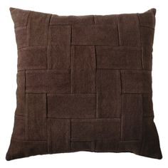 Target Nate Berkus Woven Twill Decorative Pillow  Rating $24.99 Phils office