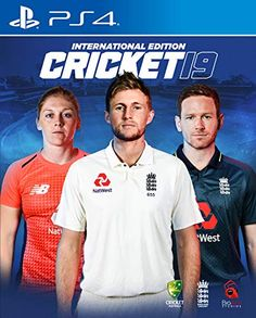 Gaming Bazar of NamokaR :- India ki first E-commerce Website jahan par aap Every Product (Cricket 19 International Edition) (Xbox One) - Price in India) ko Cheapest Price par Buy and Compare kar sakte hain Ps4 Price, One Day Cricket, Playstation, Ashes Cricket, Big Ant, Cricket Games, Ps4 Games, Studio S, Best Graphics