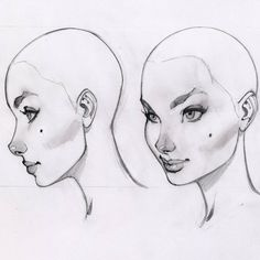 The J Scott Campbell face model sheet - 02