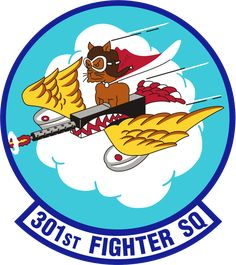 301st Fighter Squadron - Wikipedia Air Force Patches, Army Patches, Trollface Quest, Sharpie Projects, Military Memorabilia, Tuskegee Airmen, Airplane Photography, Air Fighter, Airplane Art