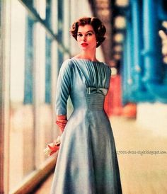 1959 Fashion   1950s Dress Style