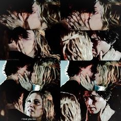 Finn & Clarke • The 100 #2x08 UGH THIS FUCKING SCENE! It broke my goddamn heart & cemented my hatred for Clarke!