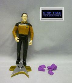 Playmates Star Trek Generations Movie - Commander Data Loose & Complete Figure #PlaymatesToys