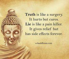 always speak the truth.