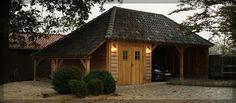 Prime Oak Buildings | Ontwerp en realisatie van eikenhouten bijgebouwen