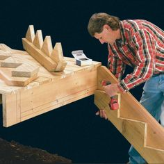 Deck Steps, Outdoor Steps, Porch Steps, House Deck, Tiny House Cabin, Stair Rise And Run, Stair Stringer Calculator, Escalier Art, Stairs