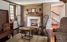 Bucks County Stone Farmhouse Architecture
