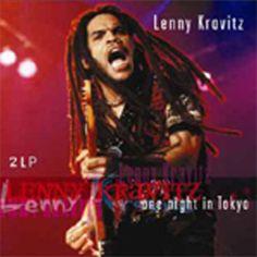 Lenny Kravitz One Night In Tokyo on Import 180g Vinyl 2LP Recorded live at Budokan, Tokyo, Japan on November 10, 1995. Musicians: Lenny Kravitz, guitar, vocals Cindy Blackman, drums Craig Ross, guitar