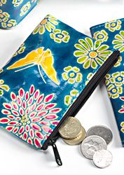 Hippy Purse~Purse Bohemian Hippy Butterfly Leather Coin Purse~Fair Trade by Folio Gothic Hippy CR12