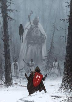 Don't be afraid. Battle scene |Snow War|