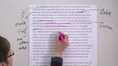 Annotating Text lesson, via YouTube.