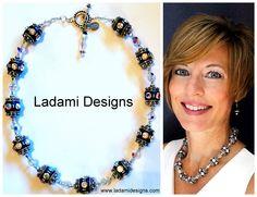 Handmade Barrel Beads #Swarovksi #crystal #sterlingsilver # Pandora Charms, Barrel, Beads, Sterling Silver, Crystals, Bracelets, Handmade, Jewelry, Design