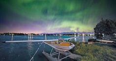 Auroras boreales desde Kvalsund, Noruega | El Universo Hoy