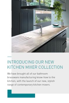 Introducing the brand new Kitchen mixer collection from VADO Kitchen Mixer, New Kitchen, British Bathroom, Contemporary, Collection