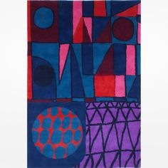 Pin for Later: The Modern-Art-Lover's Christmas Gift Guide  Neasden Control Centre Node Rug (£950)