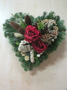 Holiday Wreaths, Holiday Decor, Grave Decorations, Advent Wreath, Valentines Flowers, Hair Color For Women, Funeral Flowers, Grave Memorials, All Saints