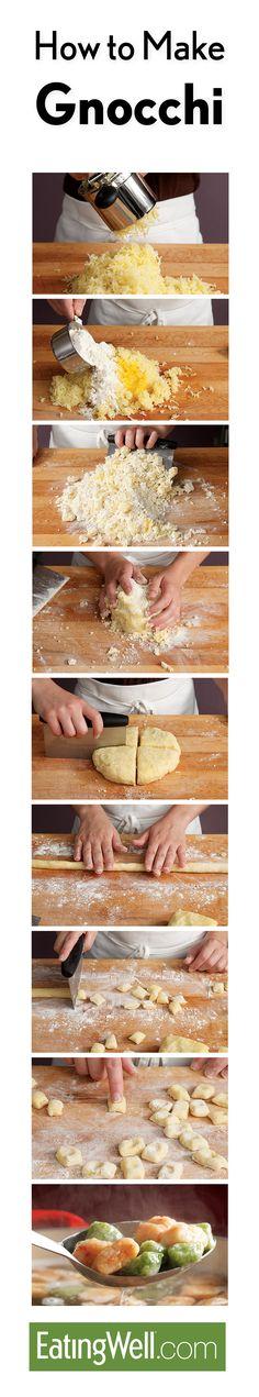 Easy homemade gnocchi