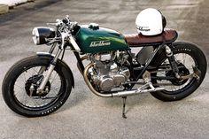 Extraordinary Honda CB250 Cafe Racer
