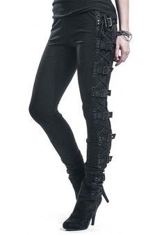 Black Rock Leggings von Gothicana by EMP