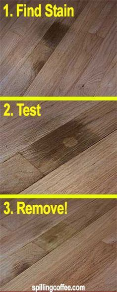 Oxalic Acid Wood Bleach Remove Dark Stains From Hardwood
